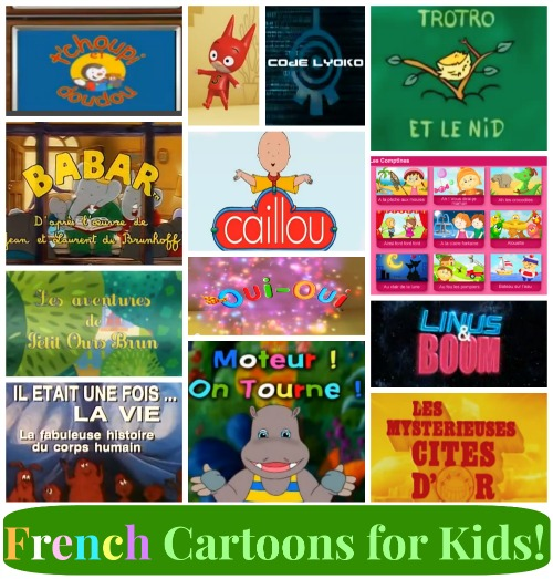 12 French Cartoons for Kids!